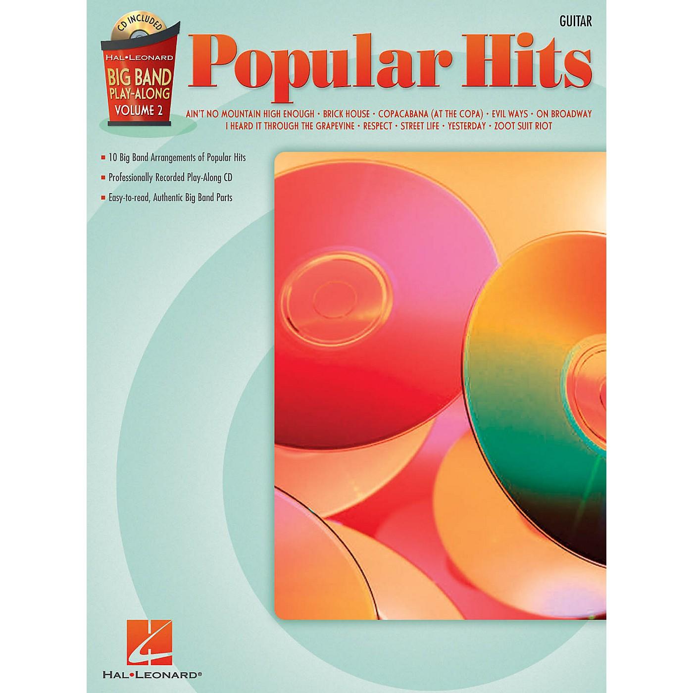 Hal Leonard Popular Hits - Guitar (Big Band Play-Along Volume 2) Big Band Play-Along Series Softcover with CD thumbnail