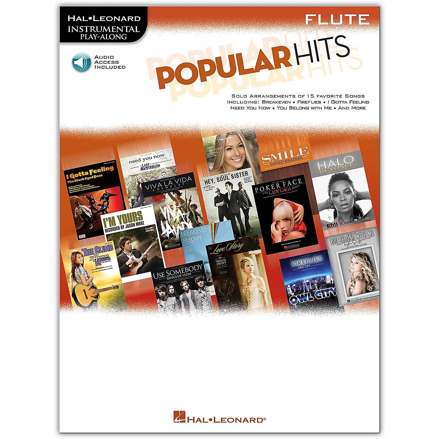 Hal Leonard Popular Hits For Flute - Instrumental Play-Along Book/Online Audio thumbnail