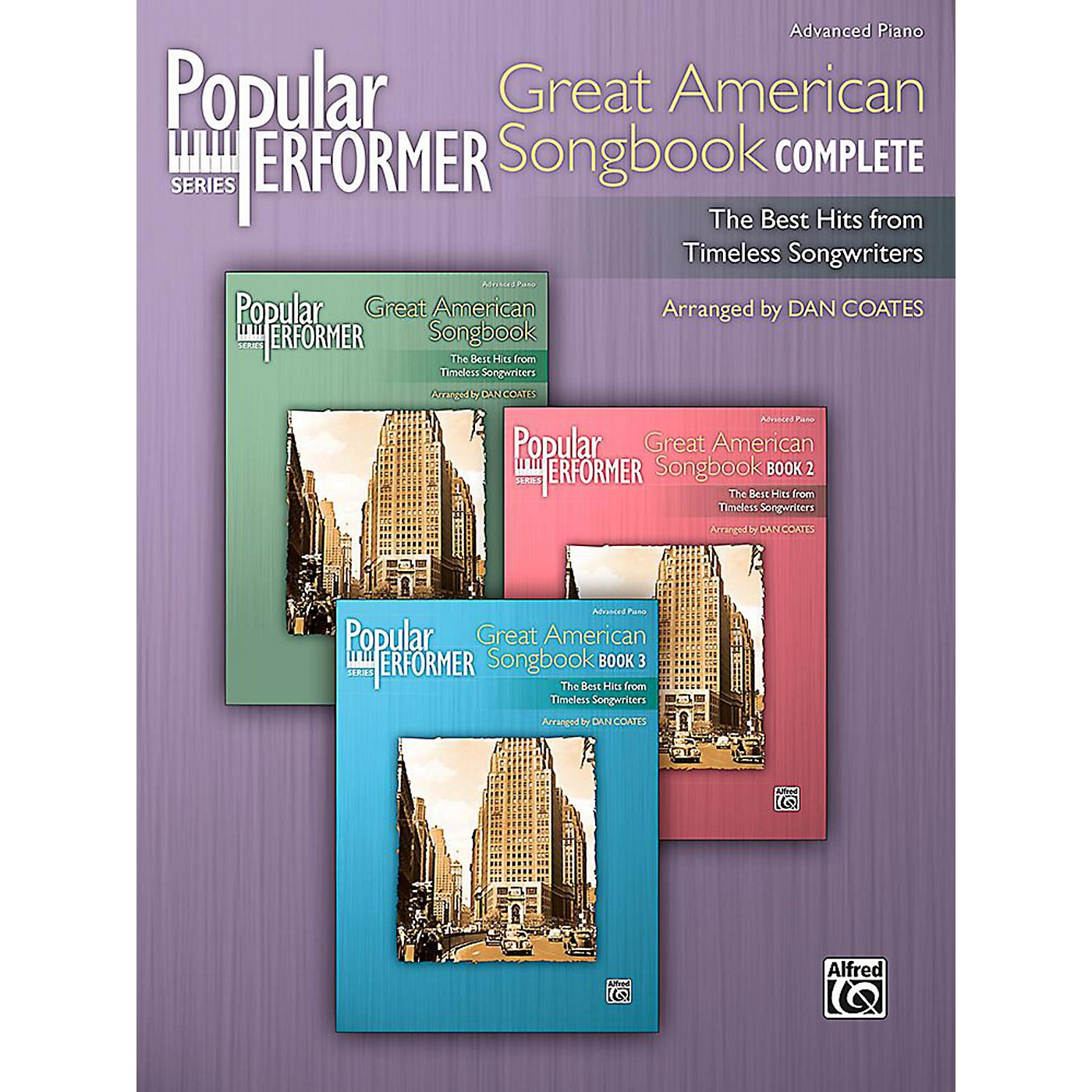 Alfred Popular Performer: Great American Songbook Complete - Advanced Book thumbnail