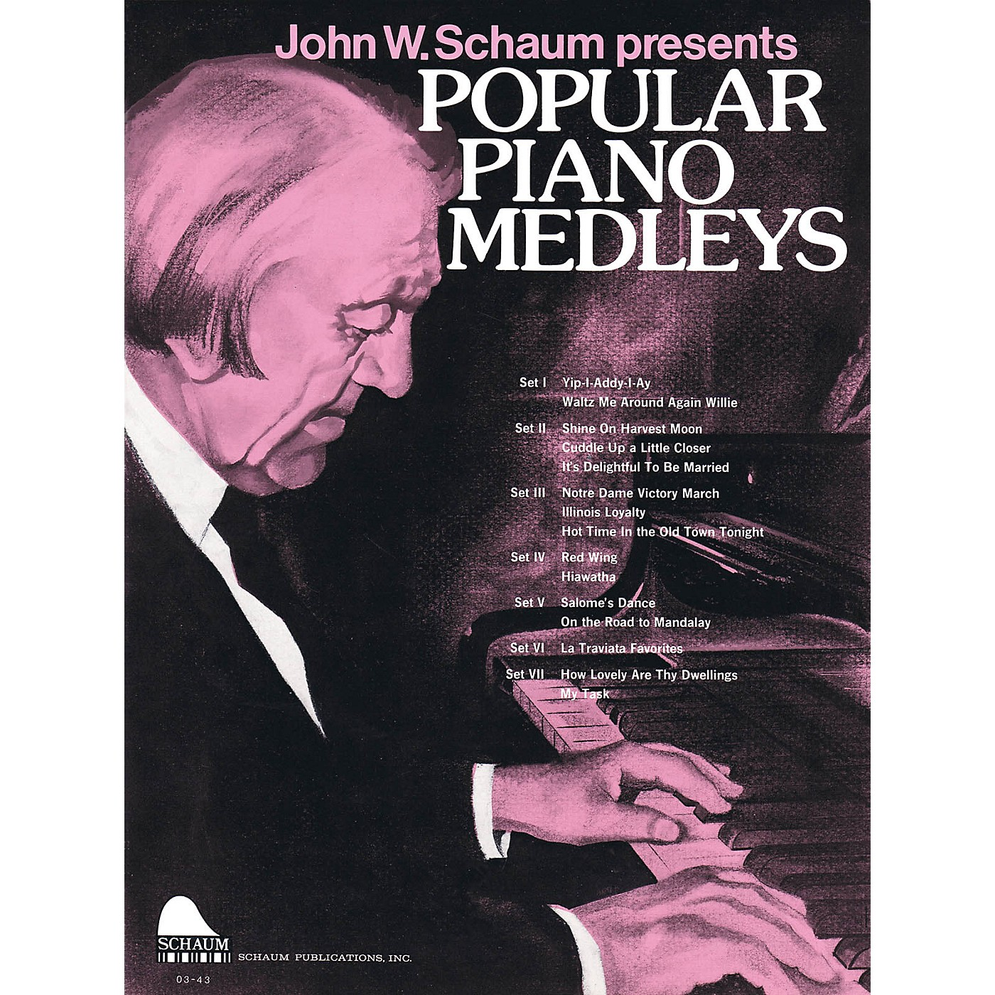 SCHAUM Popular Piano Medleys Educational Piano Series Softcover thumbnail