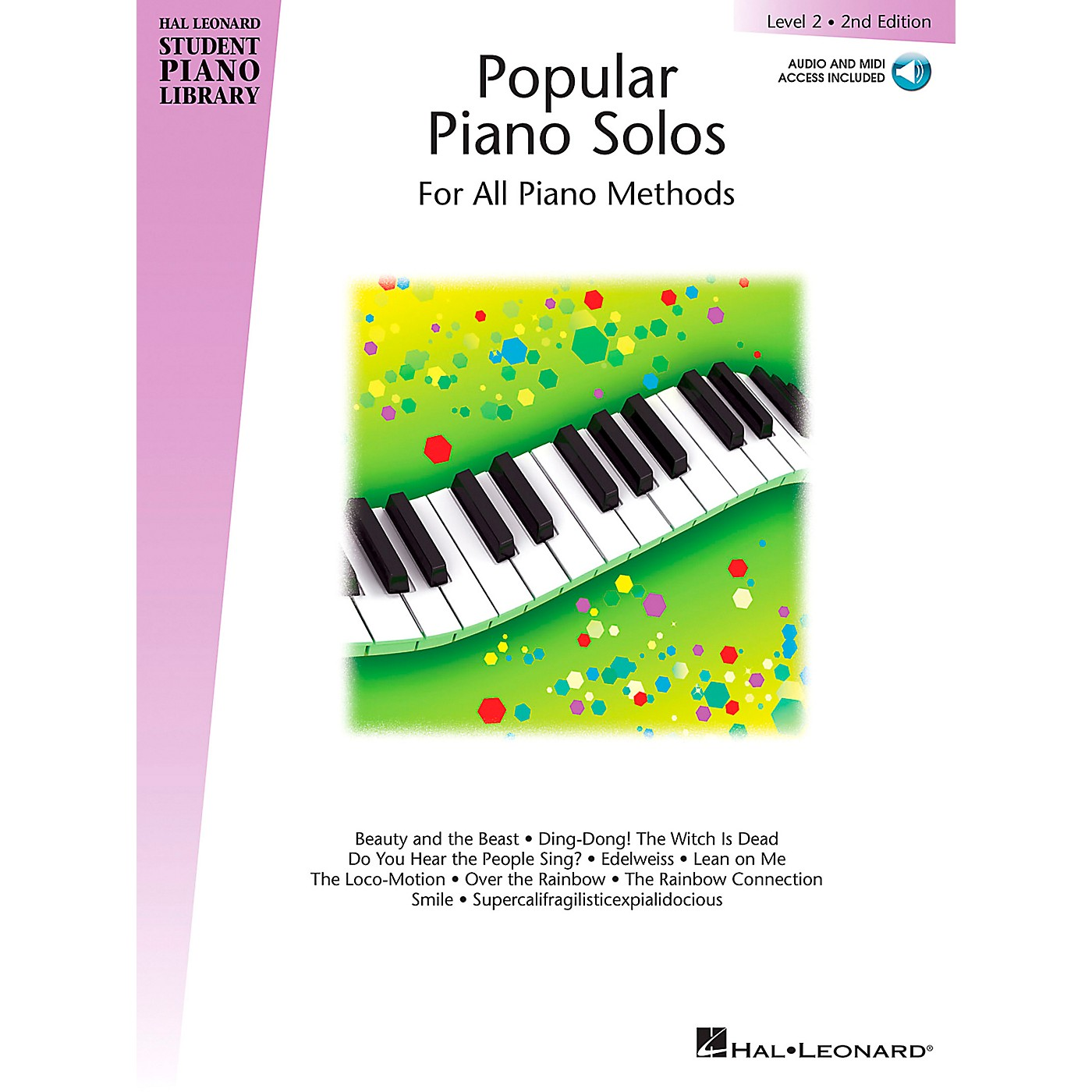 Hal Leonard Popular Piano Solos 2nd Edition - Level 2 Piano Library Series Book with CD by Various (Level Elem) thumbnail