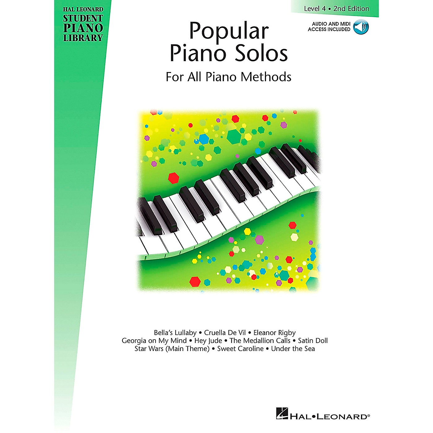 Hal Leonard Popular Piano Solos 2nd Edition - Level 4 Educational Piano Library Series Softcover with CD by Various thumbnail