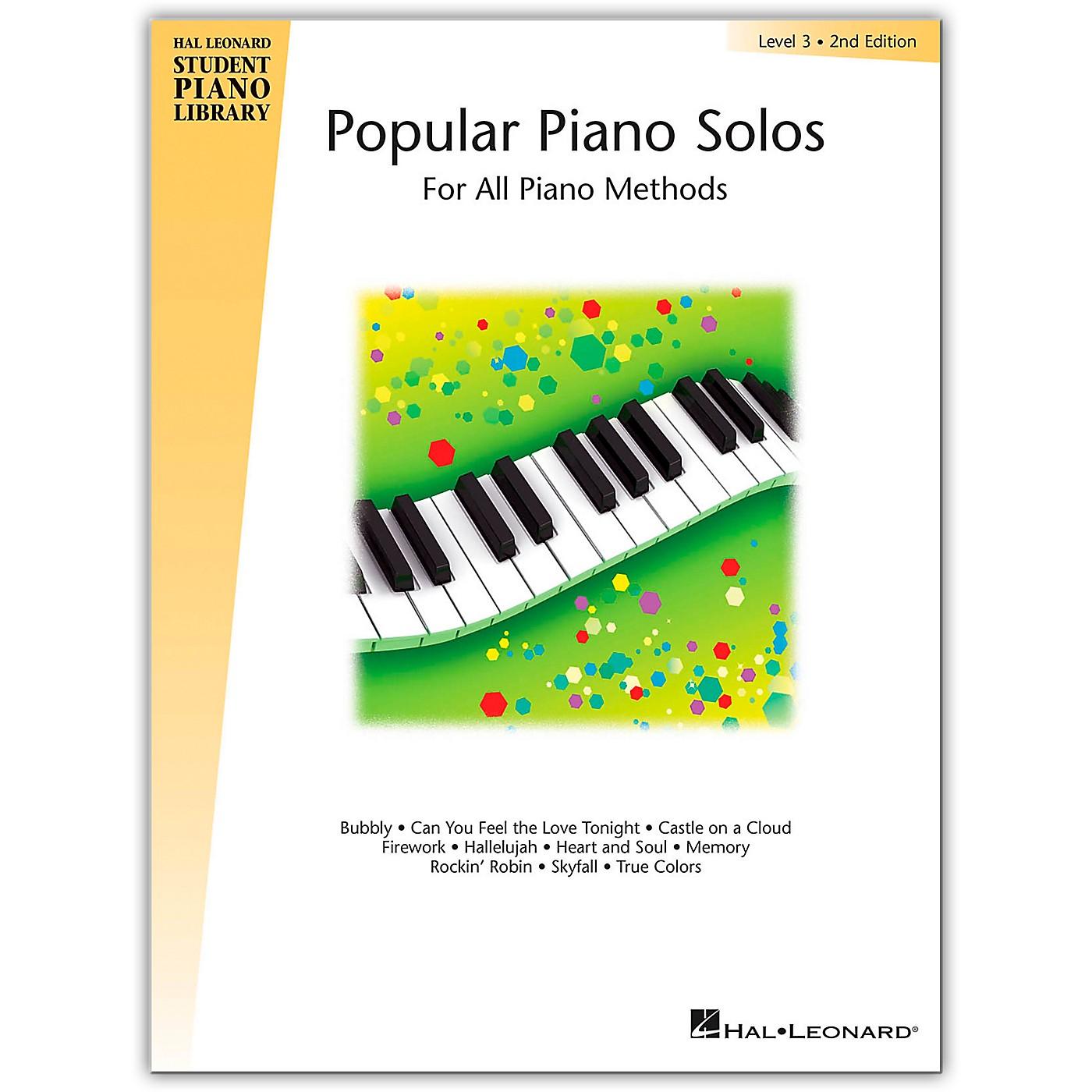 Hal Leonard Popular Piano Solos Book 3 Hal Leonard Student Piano Library by Bill Boyd thumbnail