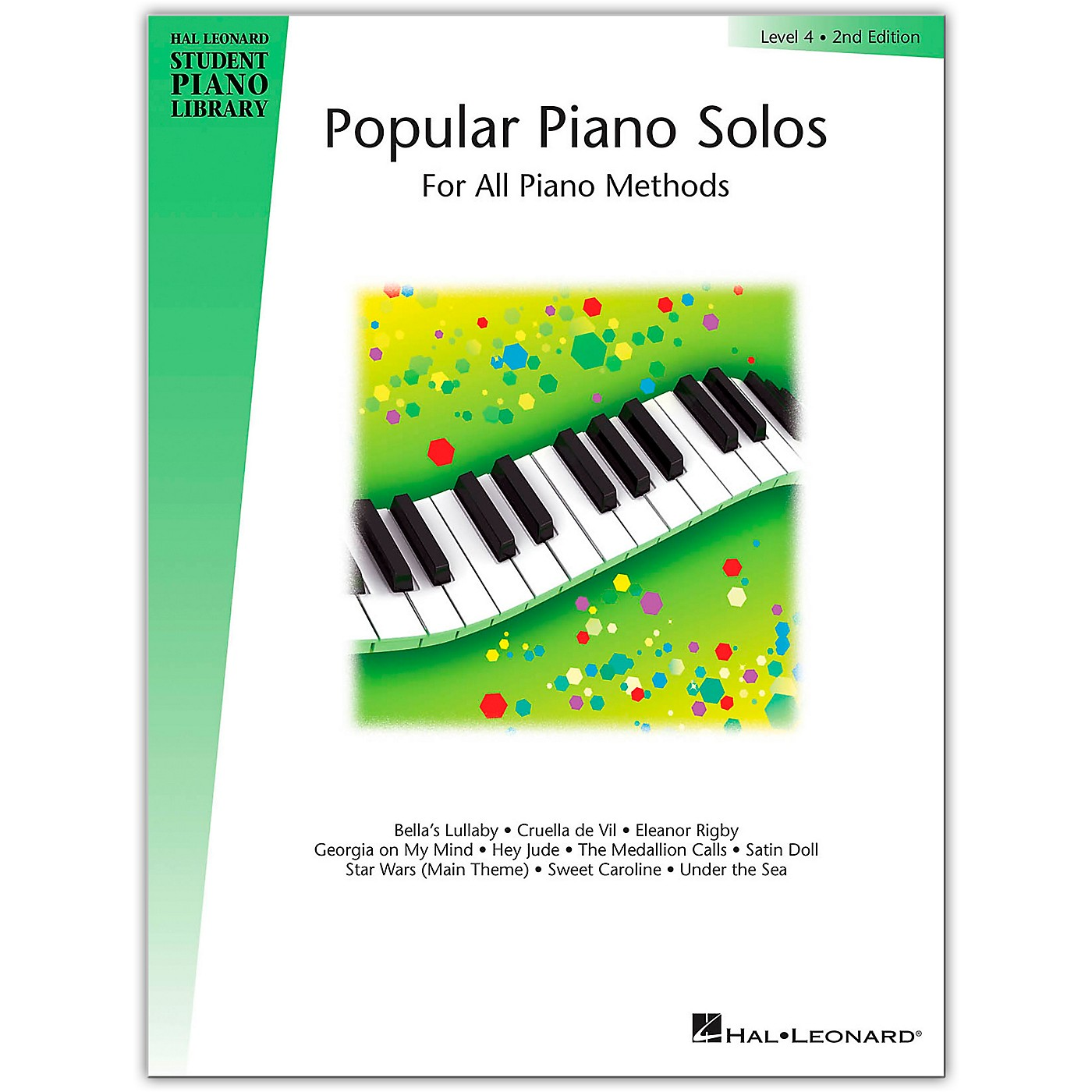 Hal Leonard Popular Piano Solos For All Piano Methods Level 4, 2nd Edition thumbnail