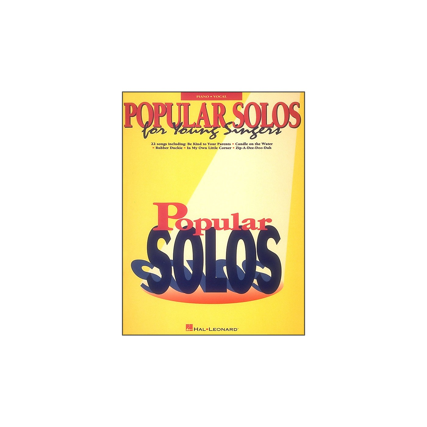 Hal Leonard Popular Solos for Young Singers thumbnail