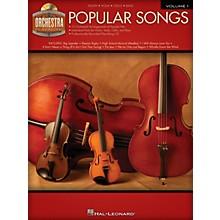 Hal Leonard Popular Songs (Orchestra Play-Along Volume 1) Orchestra Play-Along Series Softcover with CD