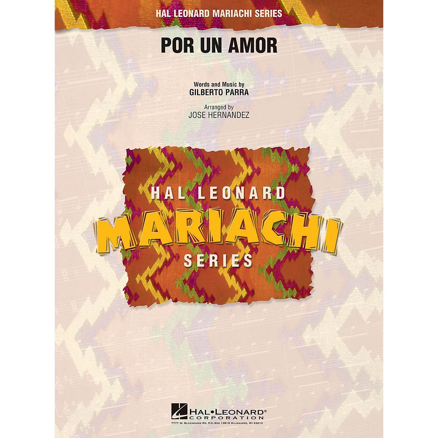 Hal Leonard Por Un Amor Concert Band Level 2.5 Arranged by Jose Hernandez thumbnail