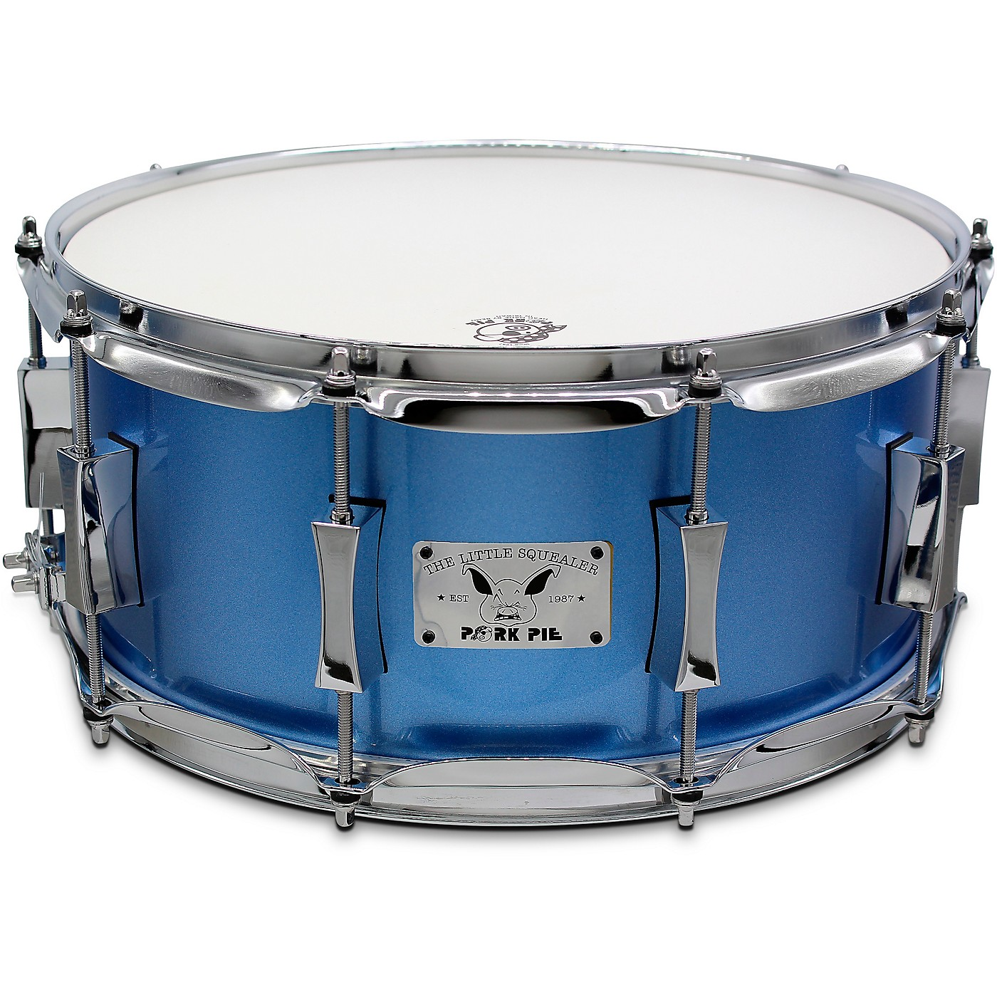 Pork Pie Porcaro Blue Snare Drum thumbnail
