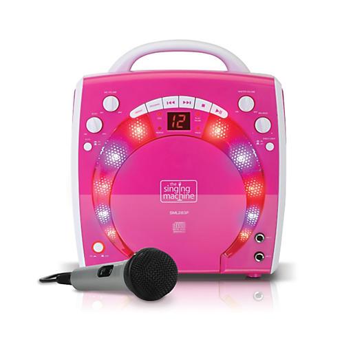 The Singing Machine Portable CD & Graphics Karaoke System-thumbnail