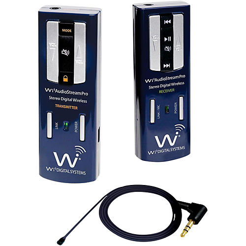 Wi Digital Portable Digital Wireless Lavalier System thumbnail