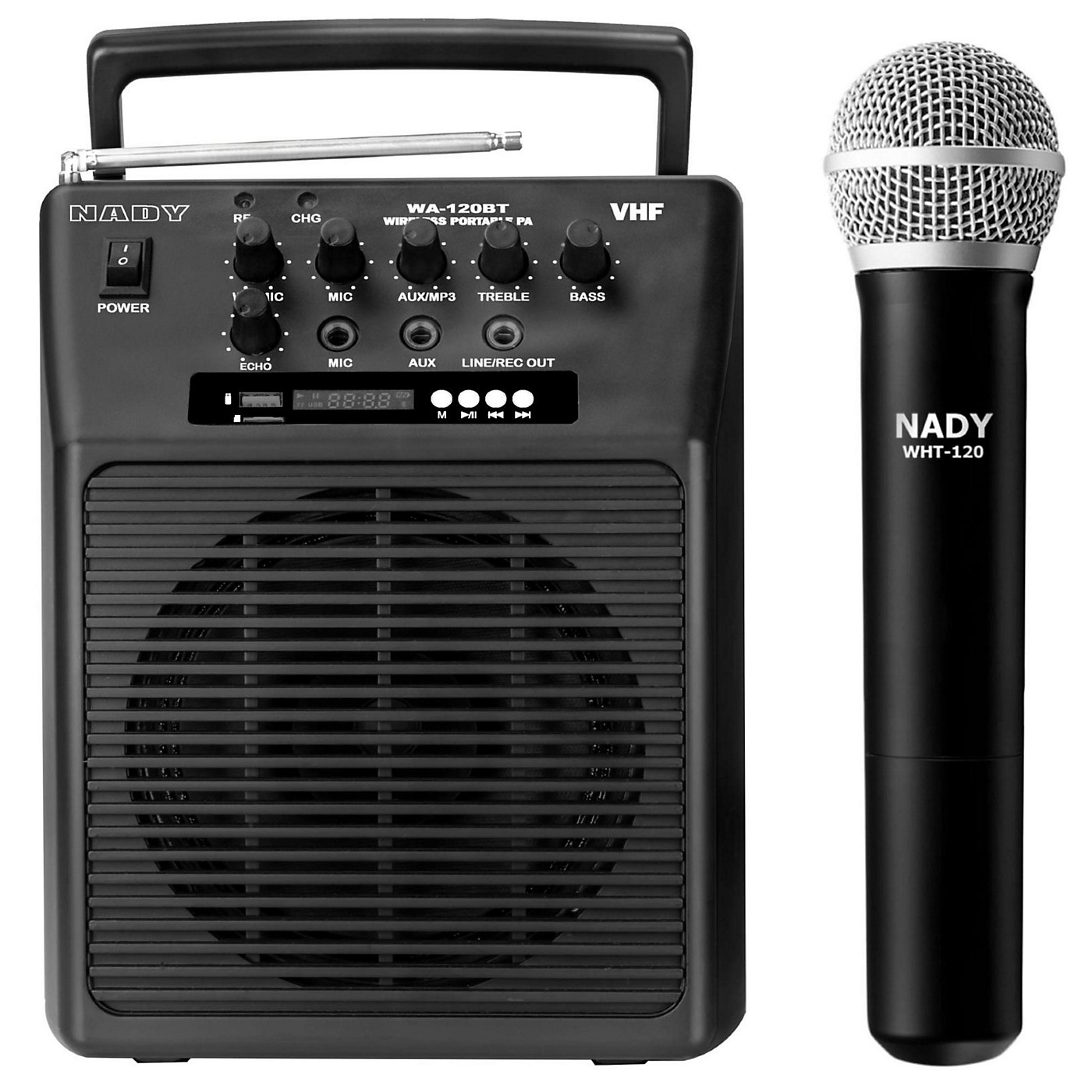 Nady Portable Wireless Instrument PA Full-Range Bluetooth Speaker System thumbnail