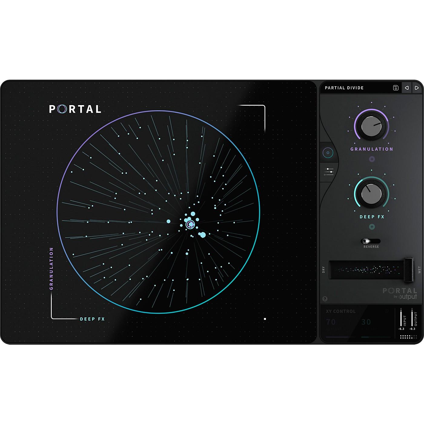 Output Portal Granular FX Plug-in thumbnail
