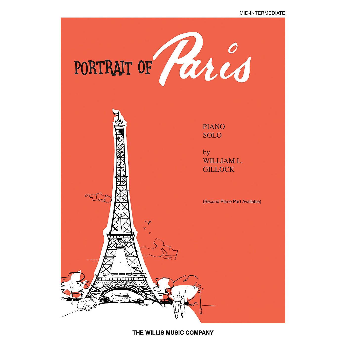 Willis Music Portrait of Paris (Mid-Inter Level) Willis Series by William Gillock thumbnail