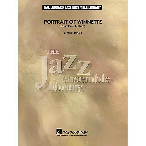 Hal Leonard Portrait of Winnette (Flugelhorn Feature) Jazz Band Level 4 Composed by Mark Taylor thumbnail