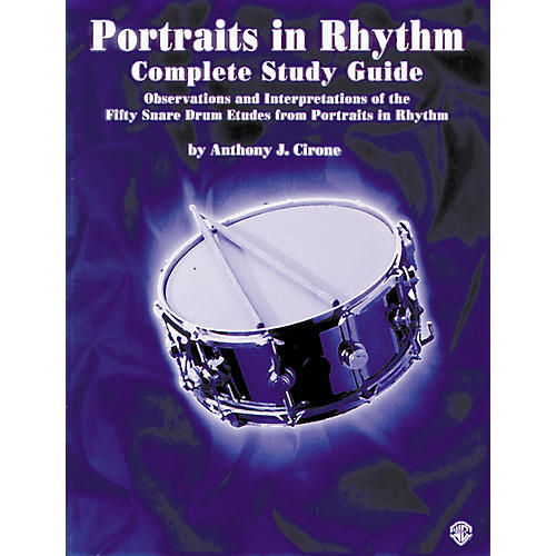 Alfred Portraits in Rhythm Study Guide thumbnail