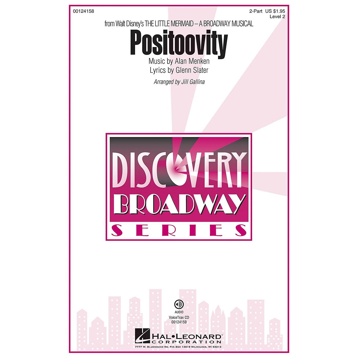 Hal Leonard Positoovity (from Walt Disney's The Little Mermaid) (Discovery Level 2) VoiceTrax CD by Jill Gallina thumbnail