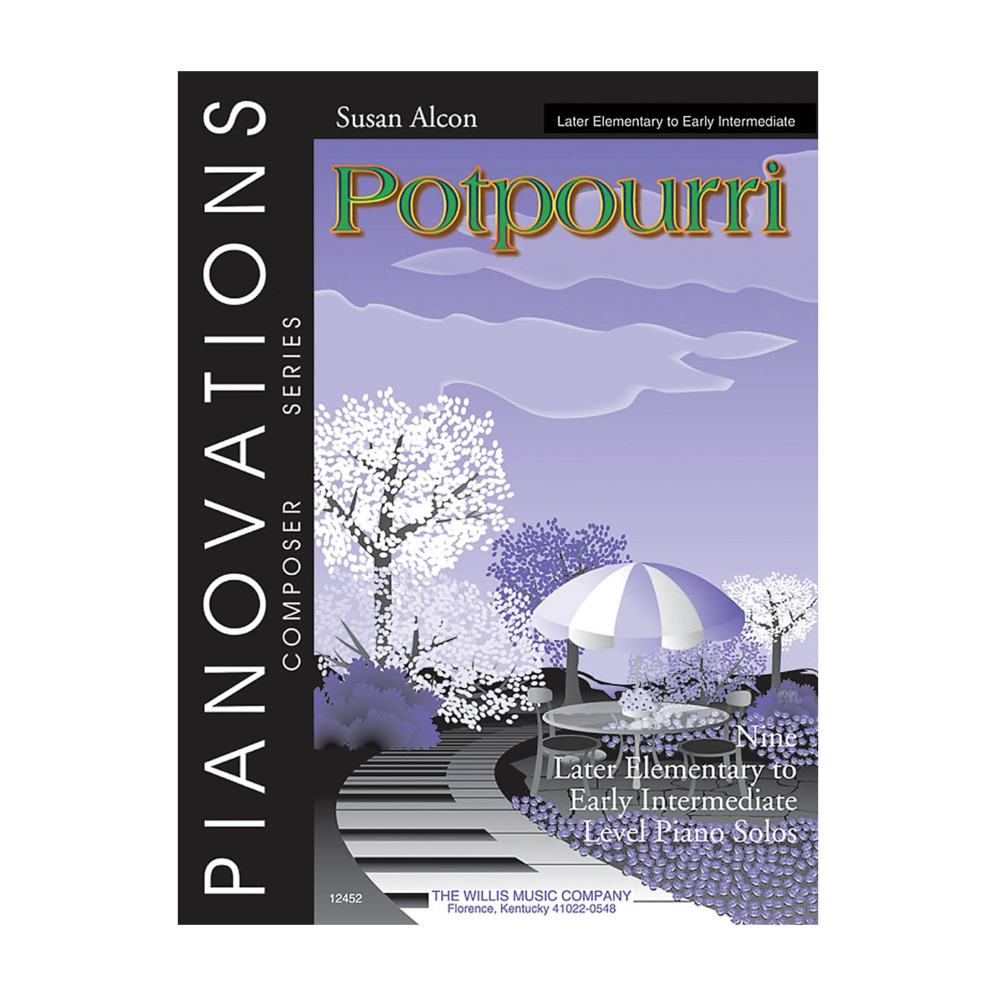 Willis Music Potpourri (Pianovations Composer Series/Early Inter Level) Willis Series by Susan Alcon thumbnail