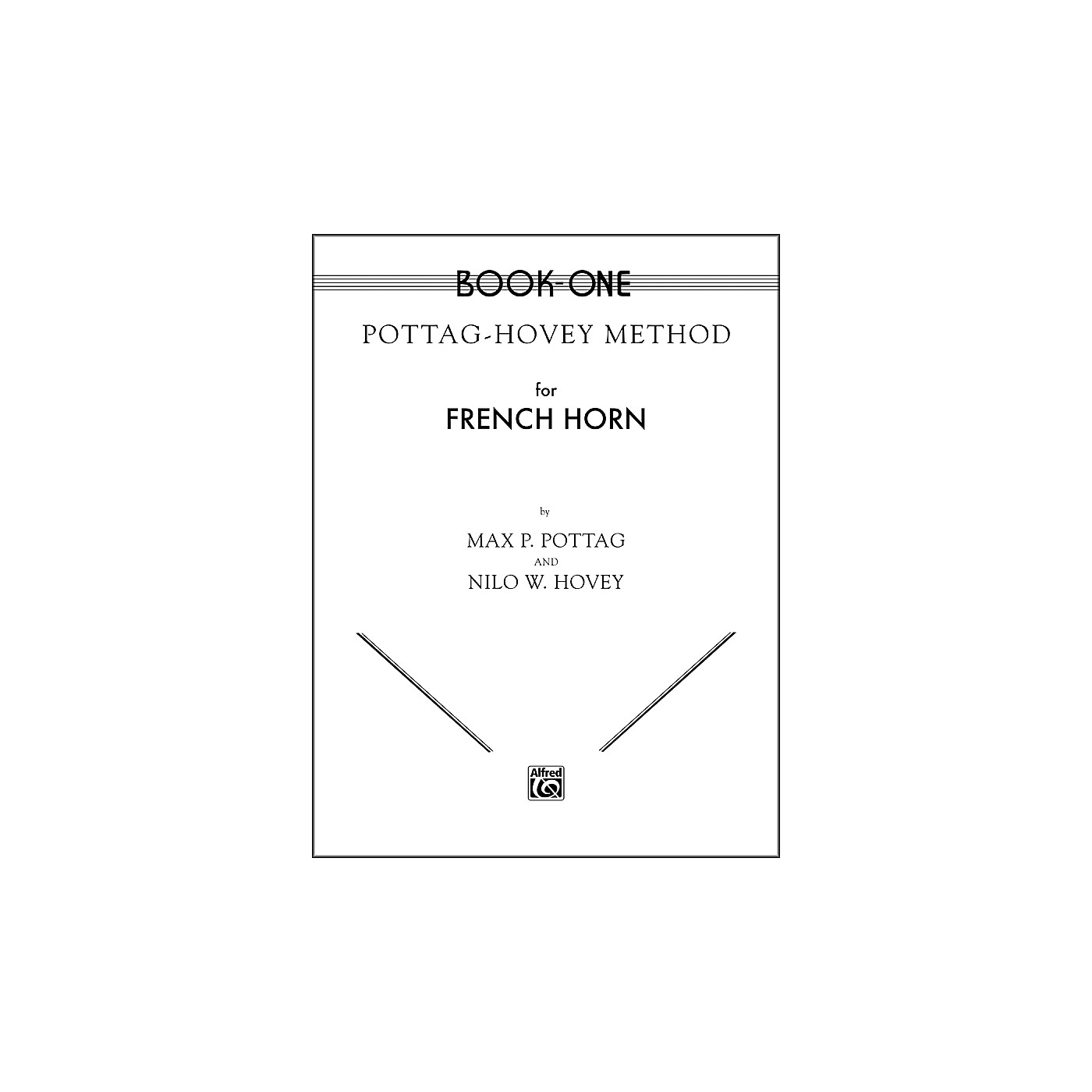 Alfred Pottag-Hovey Method for French Horn Book I thumbnail