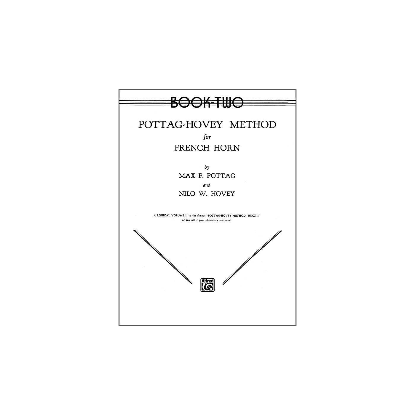 Alfred Pottag-Hovey Method for French Horn Book II thumbnail