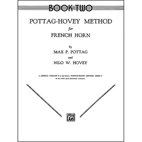 Alfred Pottag-Hovey Method for French Horn Book II-thumbnail