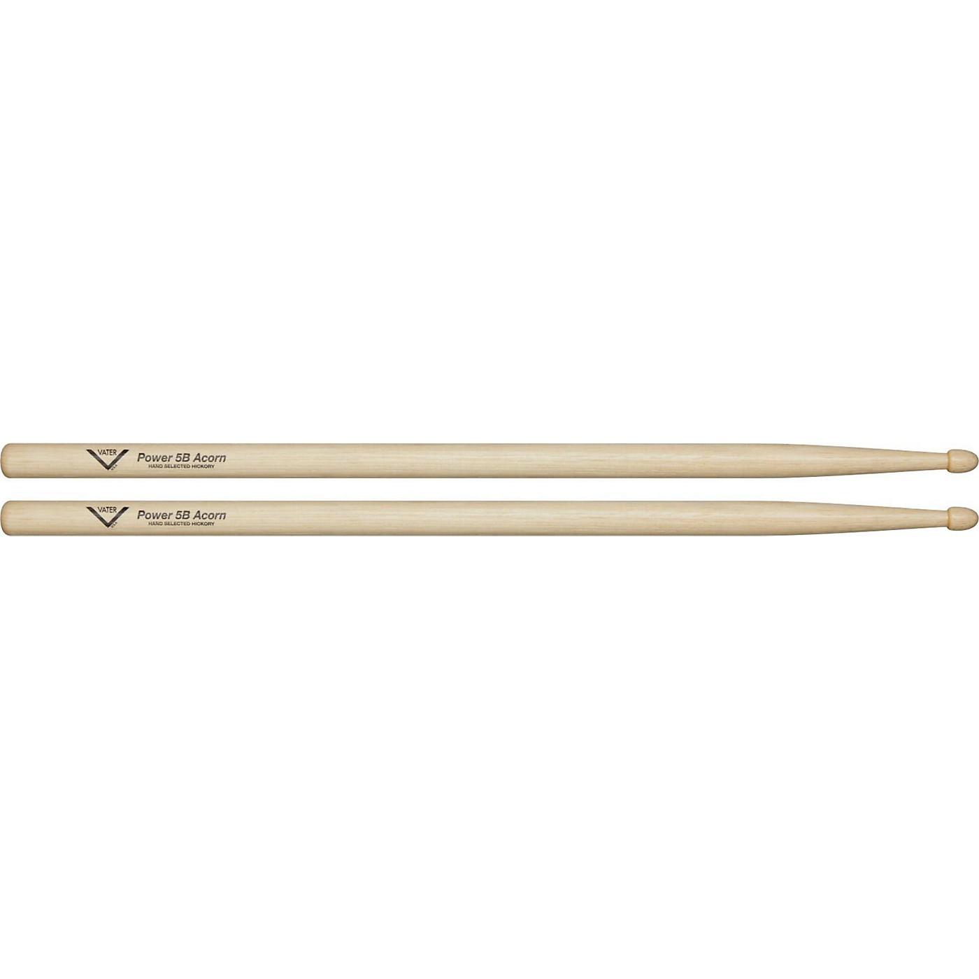 Vater Power 5B Acorn Tip Drum Sticks thumbnail