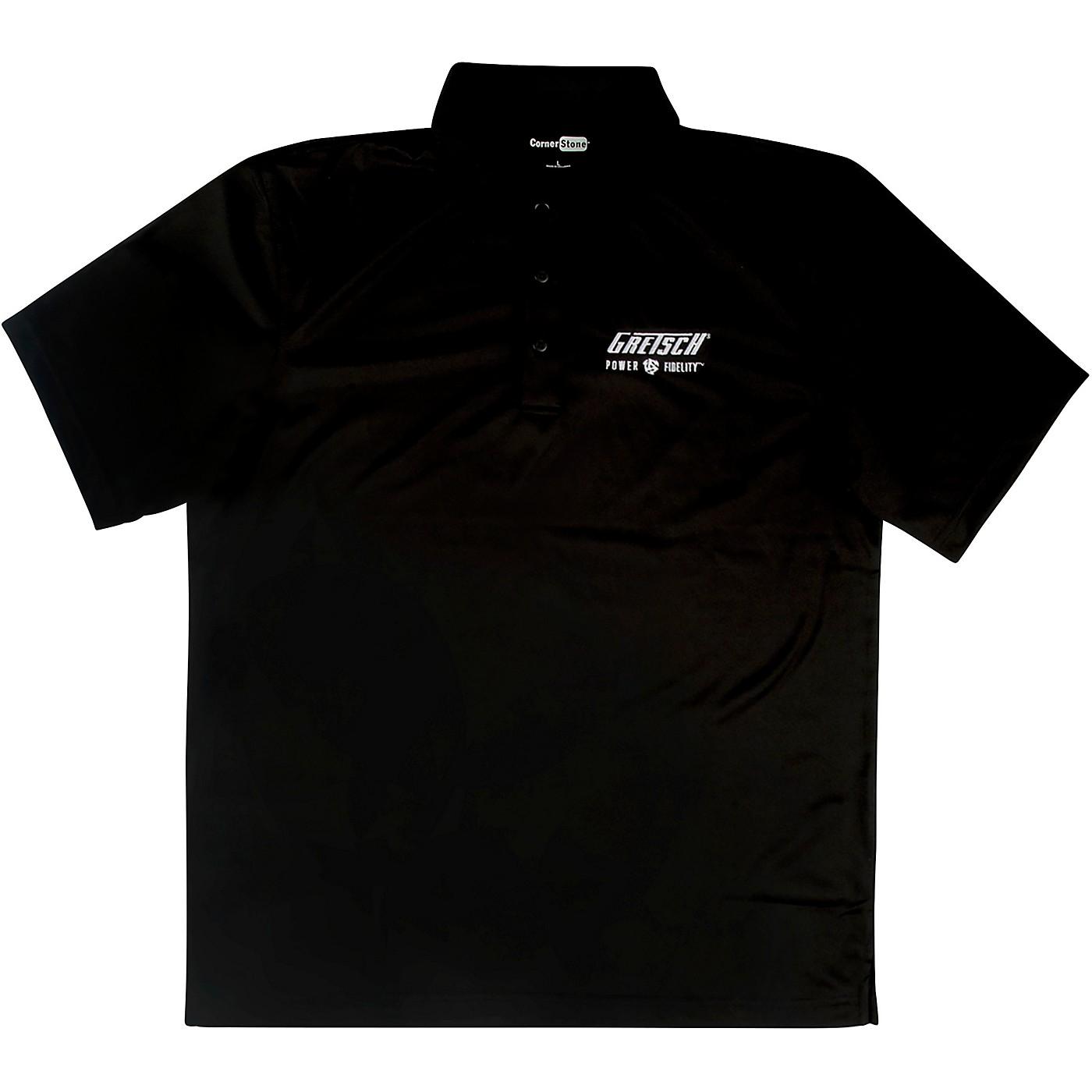 Gretsch Power & Fidelity Golf Shirt - Black thumbnail