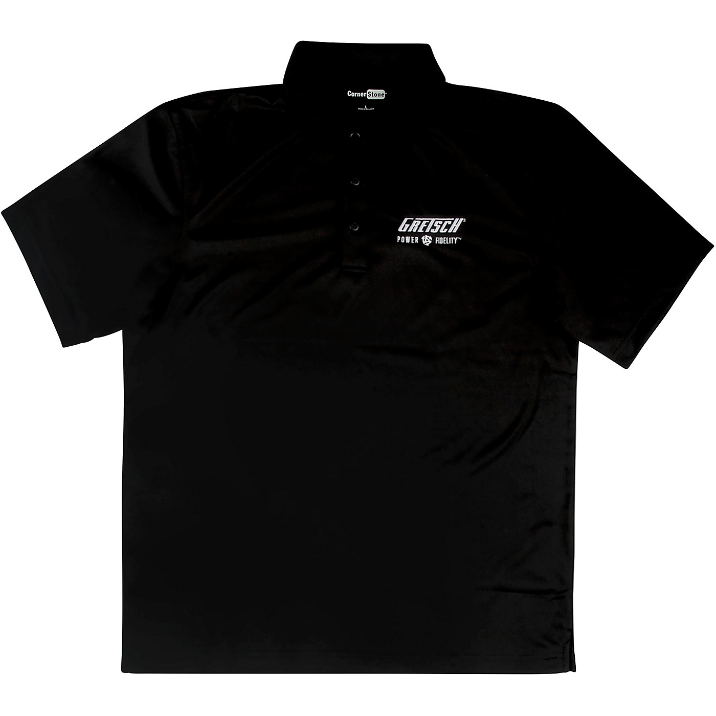 Gretsch Power & Fidelity Golf Shirt - Black thumbnail