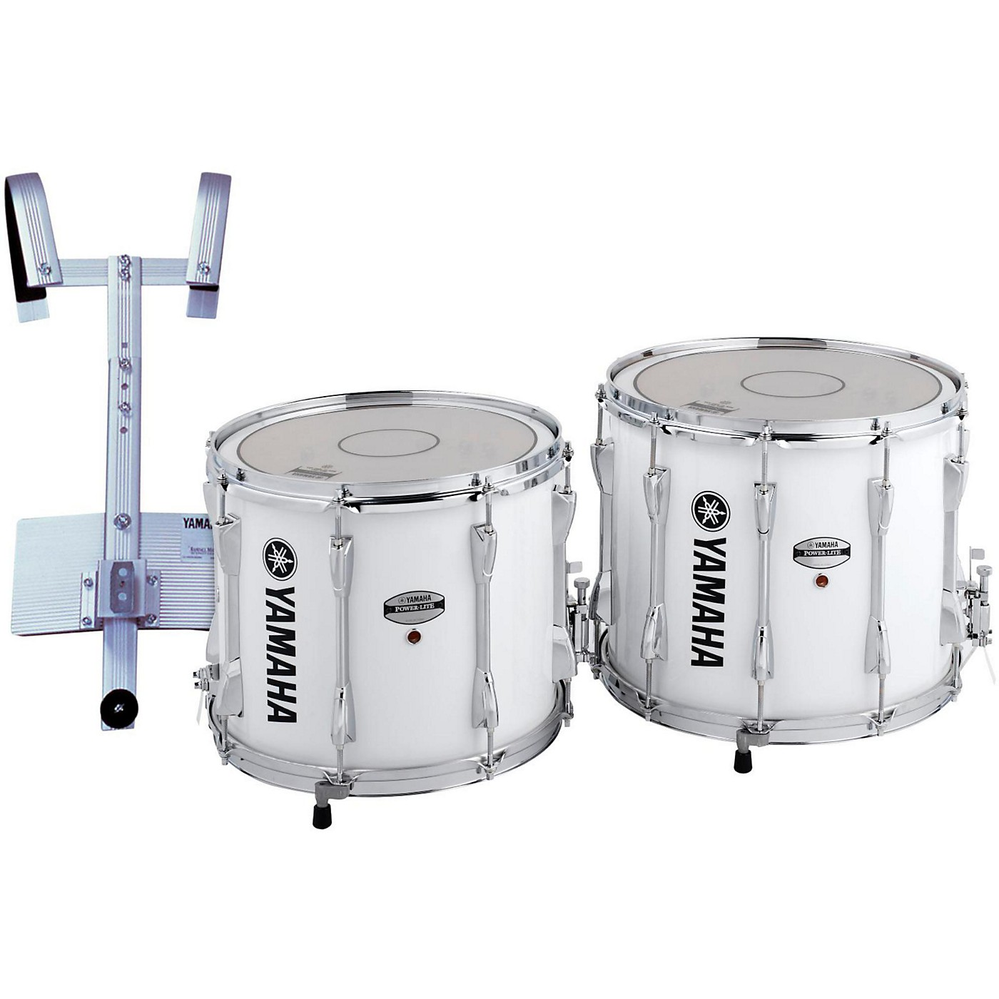 Yamaha Power-Lite Marching Snare Drum with Carrier thumbnail