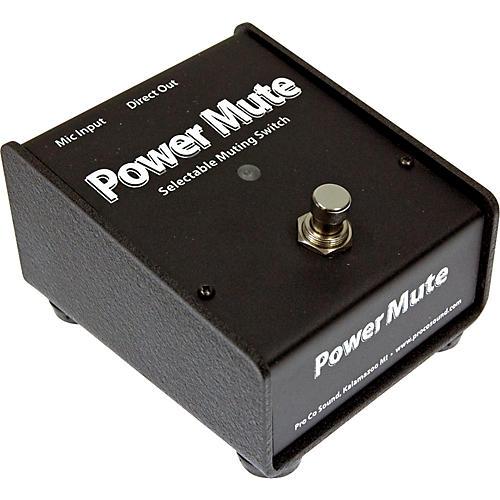 Pro Co Power Mute Mic Mute Switch-thumbnail