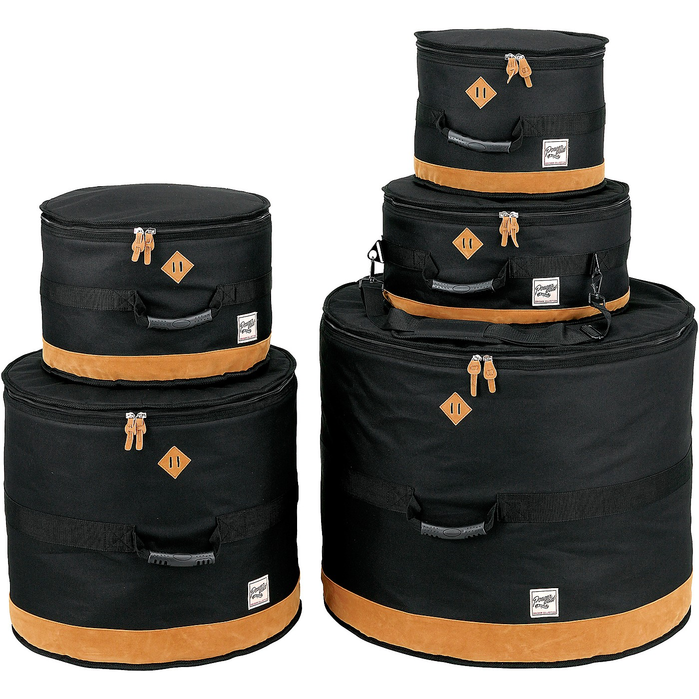 TAMA Power Pad Designer Collection Drum Bag Set for 5pc Drum Kit with 22