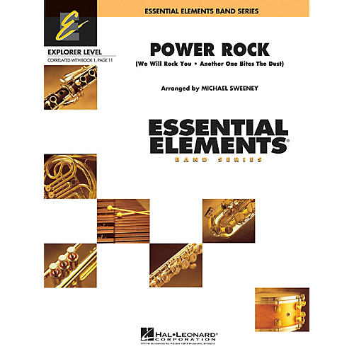 Hal Leonard Power Rock Concert Band Level 0.5 by Queen Arranged by Michael Sweeney thumbnail