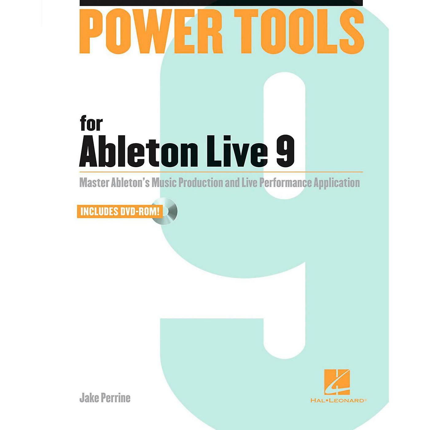 Hal Leonard Power Tools For Ableton Live 9 Book/DVD-ROM thumbnail