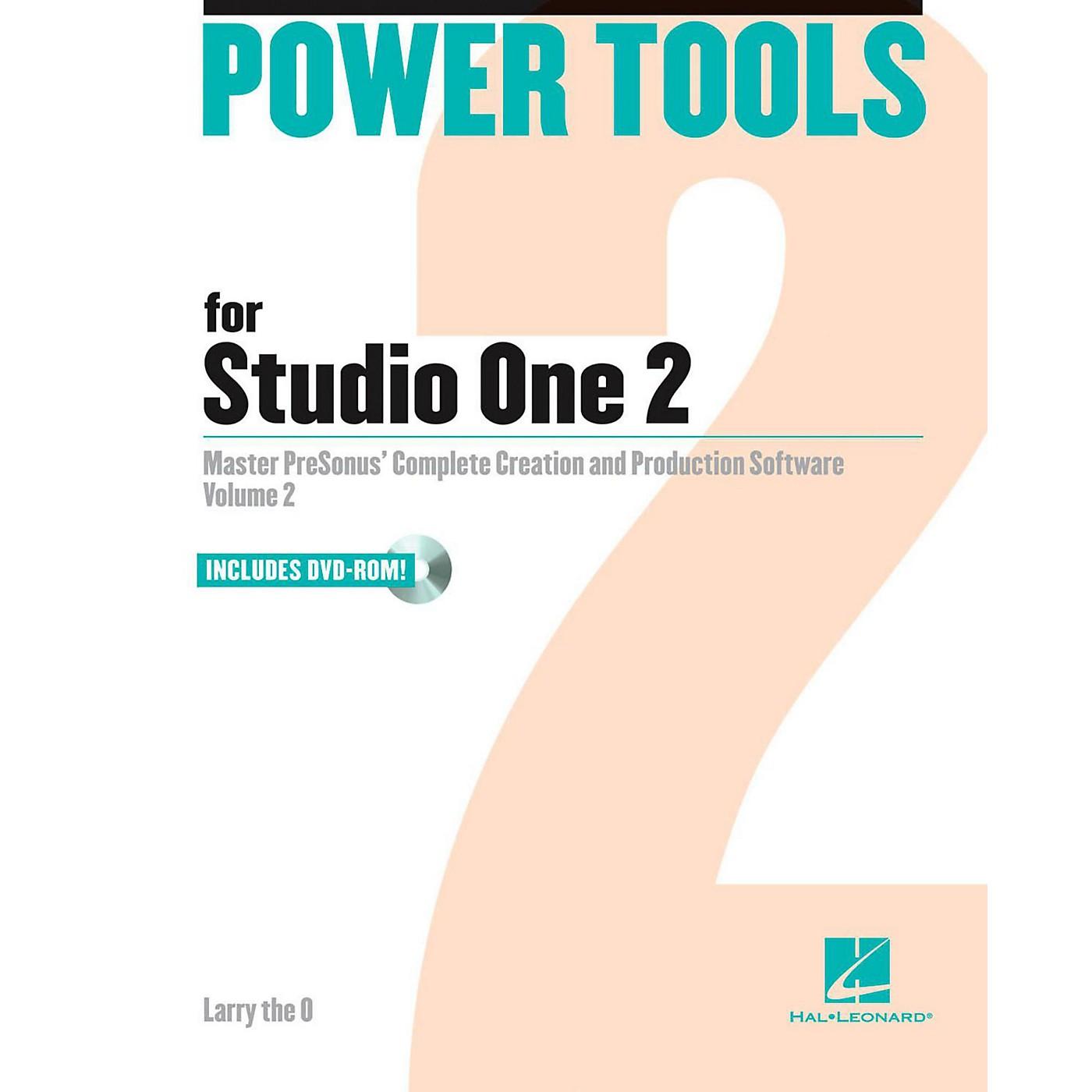Hal Leonard Power Tools For Studio One 2 Book/DVD-ROM thumbnail