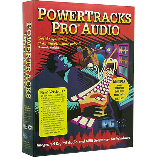 PG Music PowerTracks Pro Audio 12 MultiPAK 2009 for Windows-thumbnail