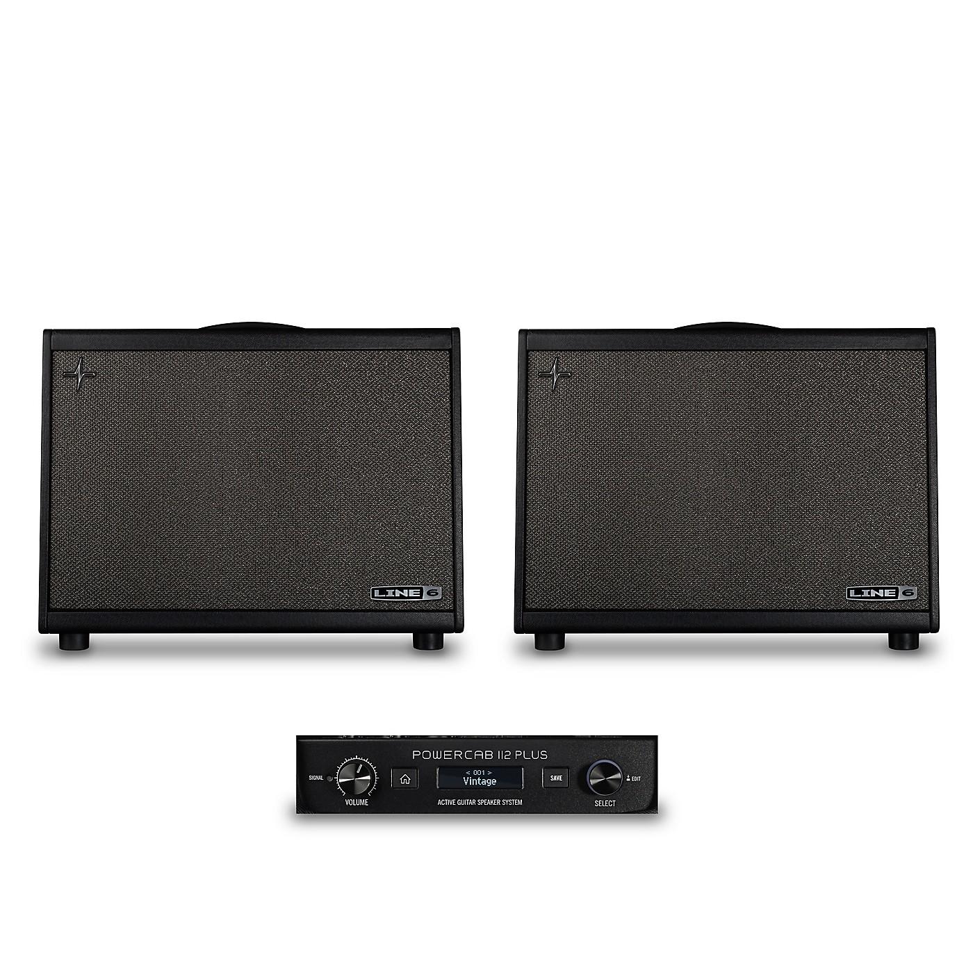Line 6 Powercab 112 Plus 250W 1x12 FRFR Powered Speaker Cab Bundle thumbnail