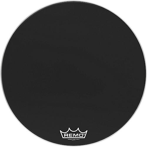 remo 30 in powermax 2 ebony crimplock bass drum head woodwind brasswind. Black Bedroom Furniture Sets. Home Design Ideas
