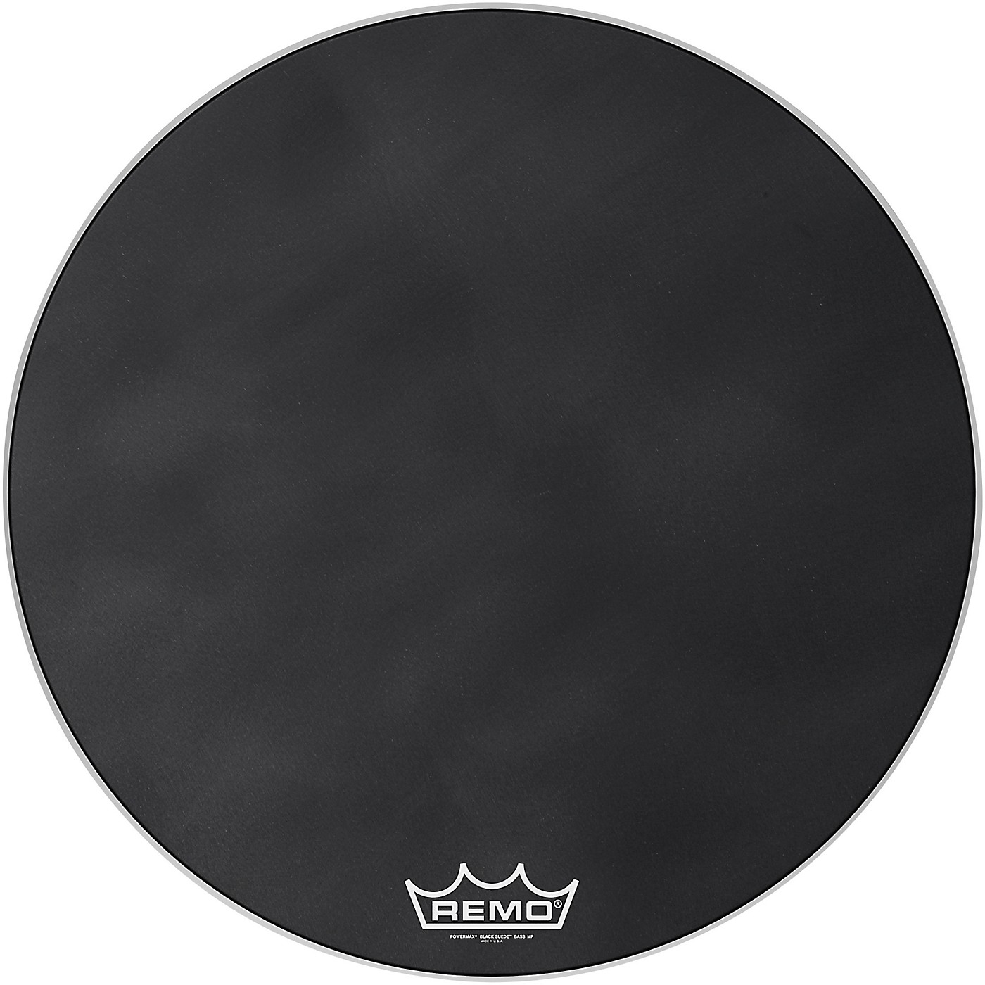 Remo Powermax Black Suede Crimplock Bass Drum Head thumbnail