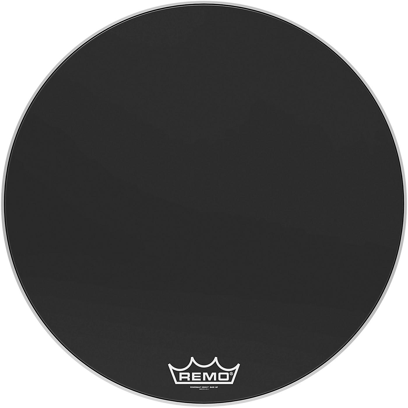 Remo Powermax Ebony Crimplock Bass Drum Head thumbnail