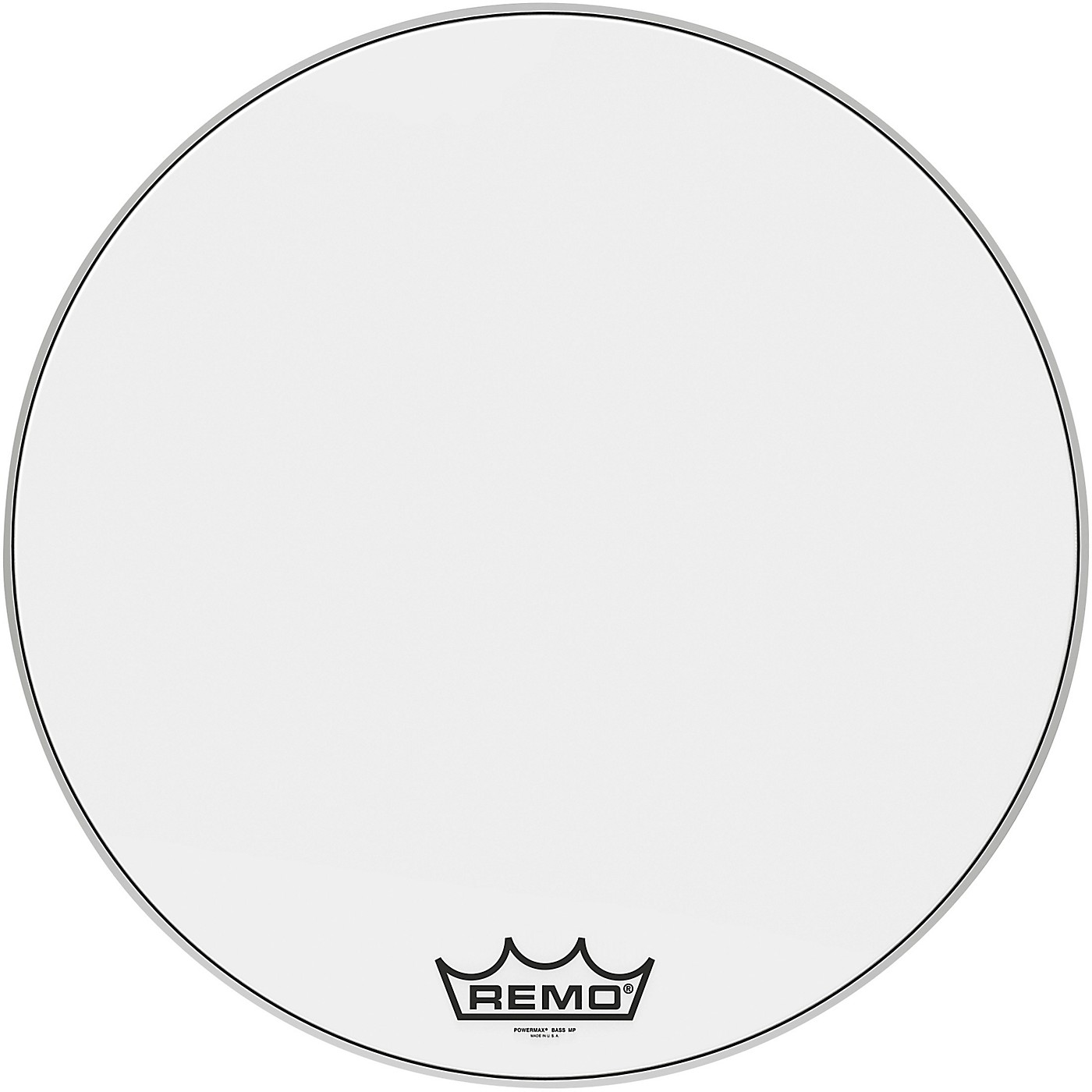 Remo Powermax Ultra White Crimplock Bass Drum Head thumbnail