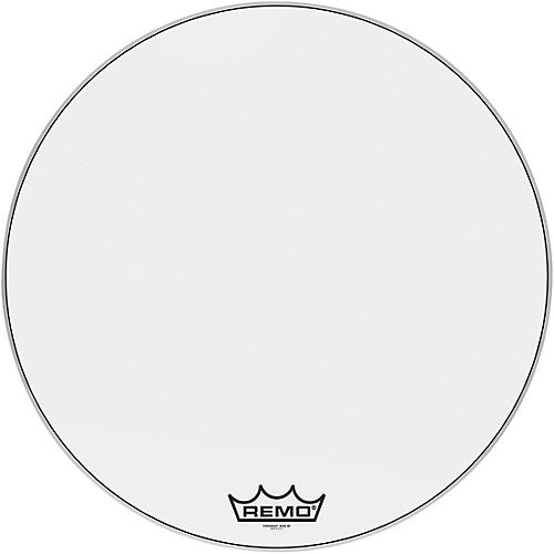 remo powermax ultra white crimplock bass drum head woodwind brasswind. Black Bedroom Furniture Sets. Home Design Ideas