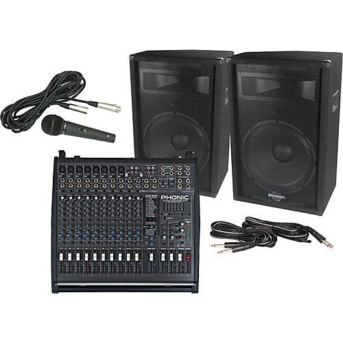 Phonic Powerpod 1860 Plus / S715 PA Package thumbnail
