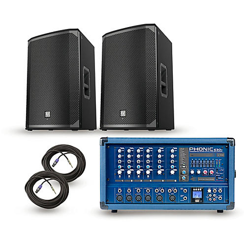 Phonic Powerpod 630R Mixer with EKX Speakers PA Package thumbnail