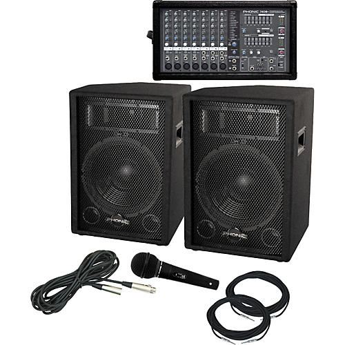 Phonic Powerpod 740 Plus / S712 PA Package thumbnail