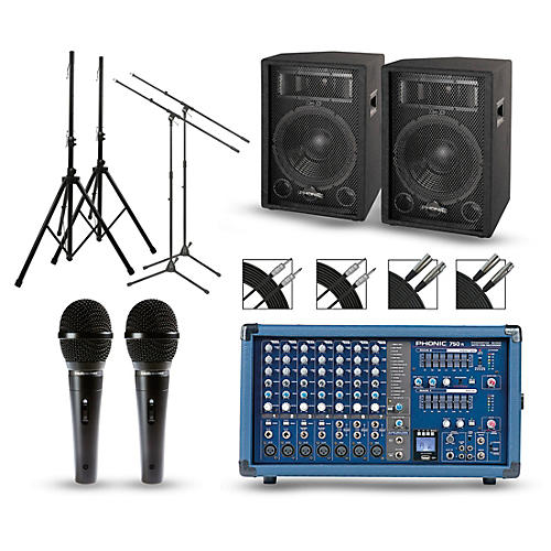 Phonic Powerpod 750R Mixer with S7 Speakers PA Package thumbnail