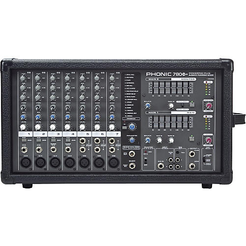 Phonic Powerpod 780 Plus 2X300W 7-Channel Powered Mixer with Digital Effects-thumbnail