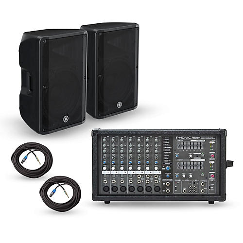 Phonic Powerpod 780 Plus Mixer with CBR Speakers PA Package thumbnail