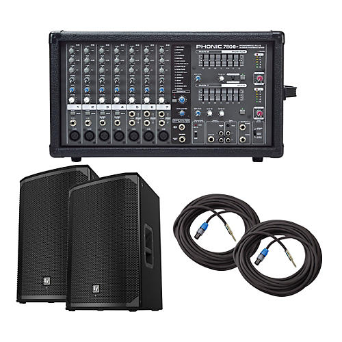 Phonic Powerpod 780 Plus Mixer with EKX Speakers PA Package thumbnail