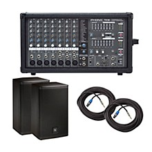 Phonic Powerpod 780 Plus Mixer with ELX Speakers PA Package