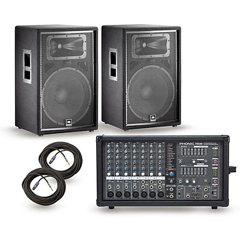 Phonic Powerpod 780 Plus Mixer with JRX Speakers PA Package thumbnail