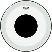 Remo Powerstroke 3 Clear Bass Drum Head with Black Dot